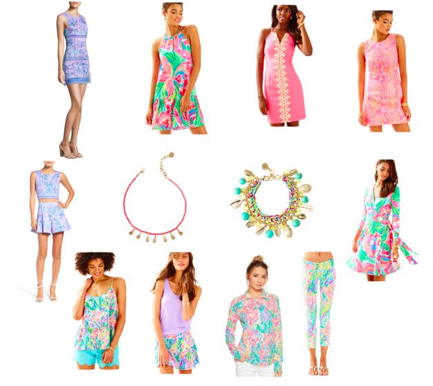 Lilly Pulitzer's SpringBreakersCollection